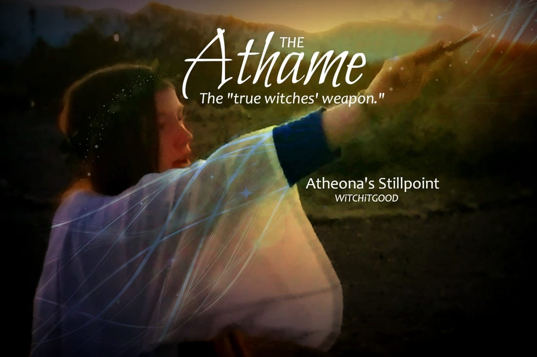 The Athame - Atheona's Stillpoint - Witch It Good