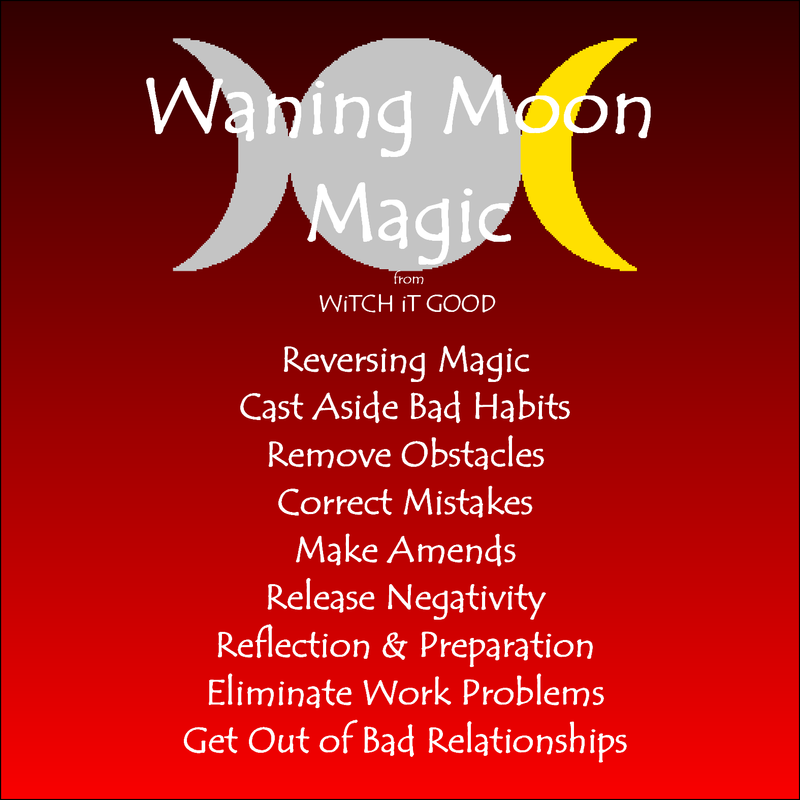 Magick for the Waning Moon