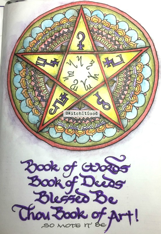 WitchItGood Pentacle of Protection